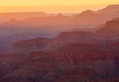 Grand Canyon Sunset, Arizona Stock Photos