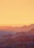 Grand Canyon Sunset, Arizona Stock Photography
