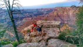 Grand Canyon. Sunset landscape rocks Arizona Royalty Free Stock Images