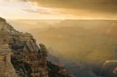 Grand Canyon at Sunset Stock Photos