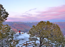 Grand Canyon Sunset....Photographer's Dream Stock Image