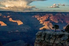 Grand Canyon at sunset Stock Image