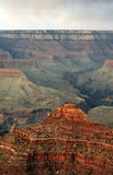Grand Canyon at sunset - south rim view - HDR. Royalty Free Stock Photos