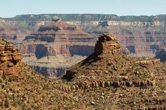 Grand Canyon at sunset - south rim view - HDR. Stock Image