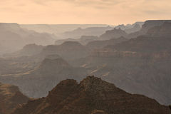 Grand Canyon at sunset Royalty Free Stock Photos
