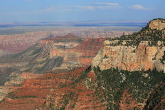 Grand Canyon Surreal landscape Royalty Free Stock Photography