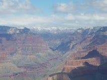 Grand Canyon tampado neve da montanha Foto de Stock Royalty Free