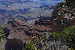 Grand Canyon Textures and Colors  Stock Photography
