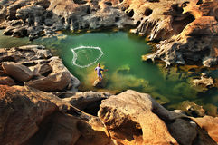 Grand Canyon of thailand Royalty Free Stock Images