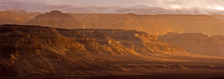 Grand Canyon in Tibet Stock Image