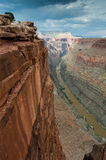 Grand Canyon at Toroweap Stock Images