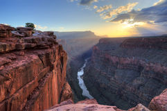 Grand Canyon Toroweap Point Sunrise Royalty Free Stock Photo