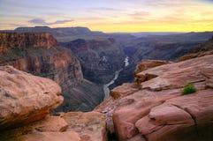 Grand Canyon - Toroweap punkt Royaltyfria Foton