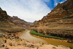 River in Grand Canyon Royalty Free Stock Photo