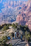 Grand Canyon tourism Stock Photography