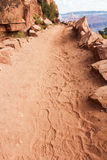 Grand Canyon trail Stock Images