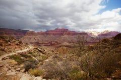 Grand Canyon Trail Royalty Free Stock Photo