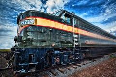 Grand Canyon Train Stock Image