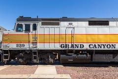 Free Grand Canyon Train On The Station, Williams, Arizona, USA Royalty Free Stock Image - 168431576