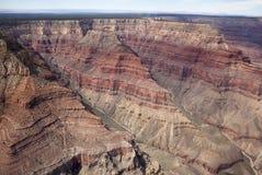 Grand Canyon -Uitzicht Royalty-vrije Stock Afbeeldingen