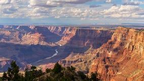 Grand Canyon - und Colorado-Panorama Stockfotografie