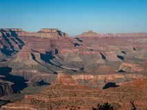 Scenic view of the Grand Canyon from the Grand Canyon Village south side royalty free stock photography