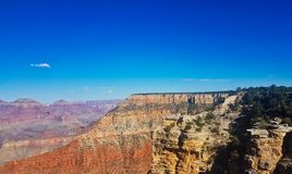 GRAND Canyon usa. A made photo over Grand Canyon in usa in September stock photo