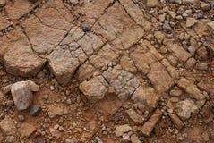 Grand Canyon västra kant - erosion på landformen Arkivbilder