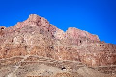 Grand Canyon vaggar landskap arkivbild