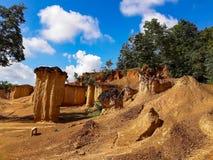 Grand Canyon van Thailand werd Phi van Phae genoemd Mueang Stock Fotografie