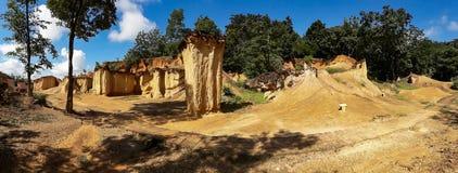 Grand Canyon van Thailand werd Phi van Phae genoemd Mueang Royalty-vrije Stock Foto