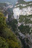 The grand canyon of Verdon Stock Photo