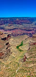 Grand Canyon Vertical Panorama Stock Image