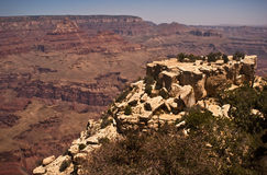 Grand Canyon View. View of the Grand Canyon from the South Rim Stock Photography