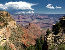 Grand Canyon view Stock Photography