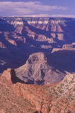 Grand Canyon View. Sunrise at the South Rim of the Grand Canyon, Arizona Royalty Free Stock Photo