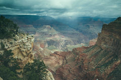Grand Canyon view Royalty Free Stock Photography