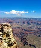 Grand Canyon view in the afternoon. Stock Images