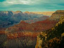 Grand Canyon view. Arizona Grand Canyon lookout view point Royalty Free Stock Photo
