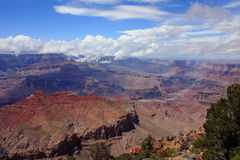 Grand Canyon. View of Grand Canyon and Colorado river at Grand Canyon National Park Stock Image