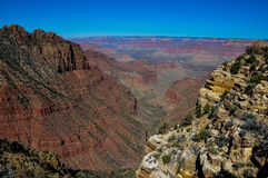 Grand Canyon view from east rim, Arizona, USA Royalty Free Stock Photo