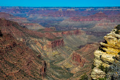 Grand Canyon view from east rim, Arizona, USA Royalty Free Stock Photos