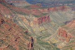 Grand Canyon view from east rim, Arizona, USA Stock Photography