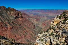 Grand Canyon view from east rim, Arizona, USA Stock Images