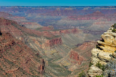 Grand Canyon view from east rim, Arizona, USA Royalty Free Stock Image