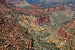 Grand Canyon view from east rim, Arizona, USA Stock Image