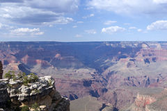 Grand Canyon View, Pima Point Stock Images