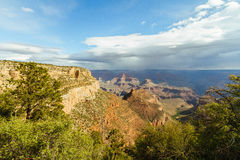 Grand Canyon View Royalty Free Stock Photos
