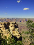 Grand Canyon view point Royalty Free Stock Photography