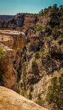 Grand Canyon. A view into the Grand Canyon from the South Rim Royalty Free Stock Image